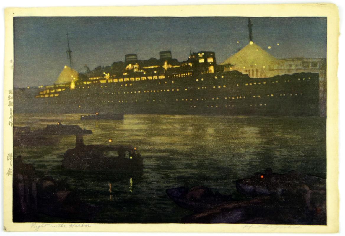 Night in the Harbor