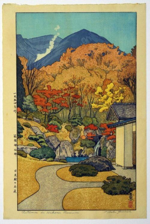 toshi-yoshida-autumninhakonemuseum