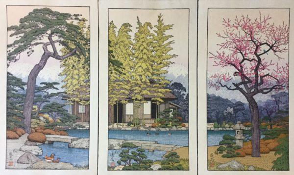 Toshi Yoshida The Friendly Garden