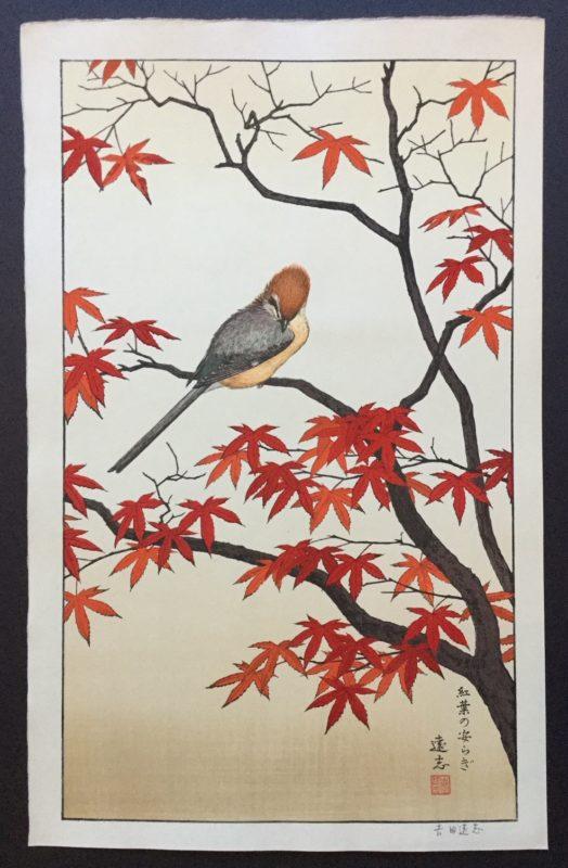 Toshi Yoshida Birds of the Seasons Fall
