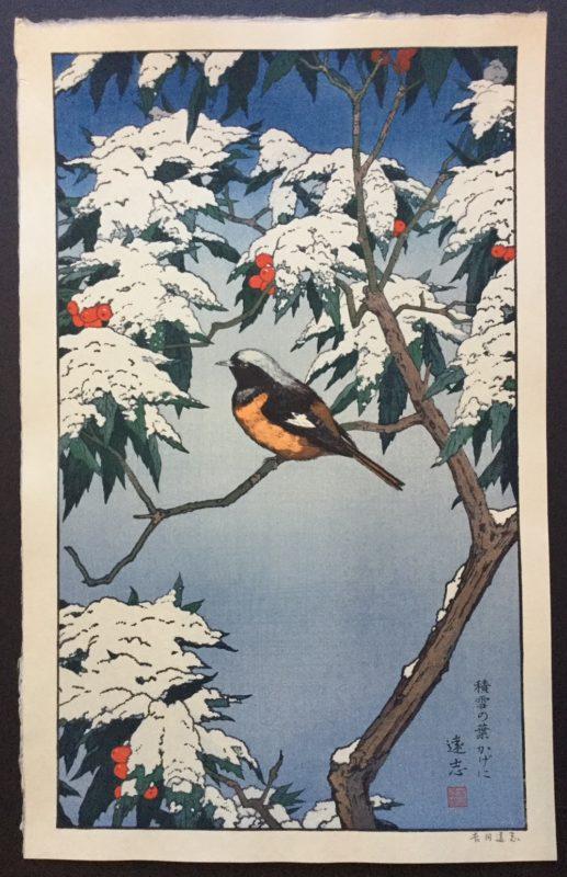 Toshi Yoshida Birds of the Seasons Winter